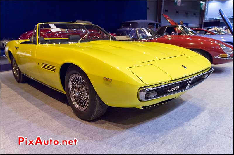 Maserai Ghibli Spyder, Arcurial Salon Retromobile