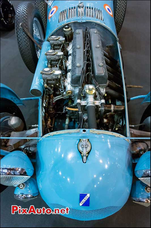 Moteur Talbot Lago T26GS, Salon Retromobile 2014
