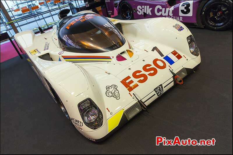 Peugeot 905 Sports Prototype Group-C, salon retromobile