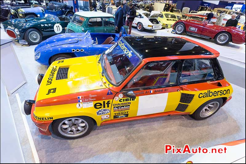 Renault 5 Turbo GR4 Usine, Arcurial Salon Retromobile