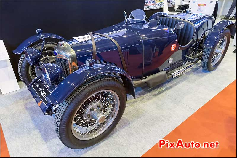 Riley Brooklands 9, salon retromobile 2014