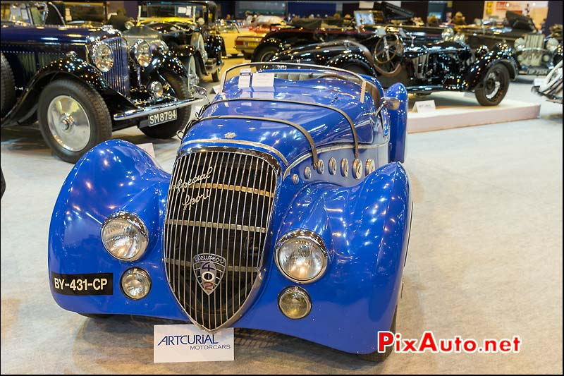 Roadster 402 Darlmat, Arcurial Salon Retromobile