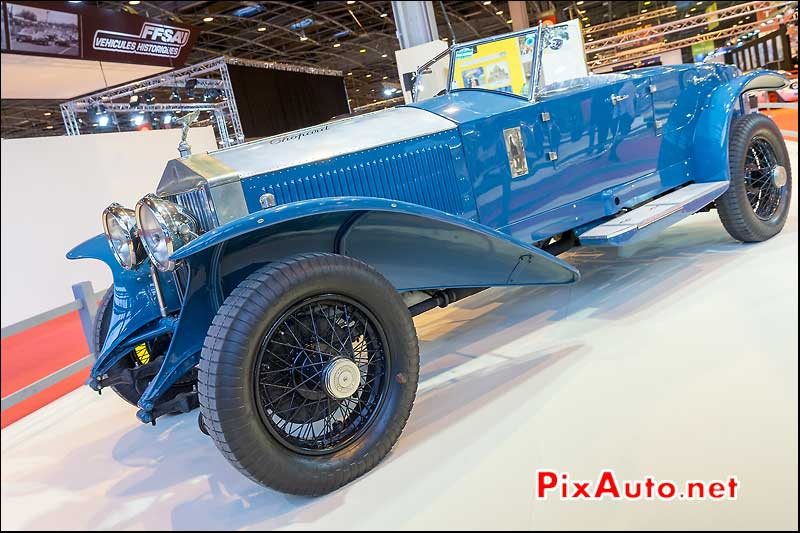 Rolls-Royce Phantom-I-17EX, voitures Maharadjas, salon retromobile