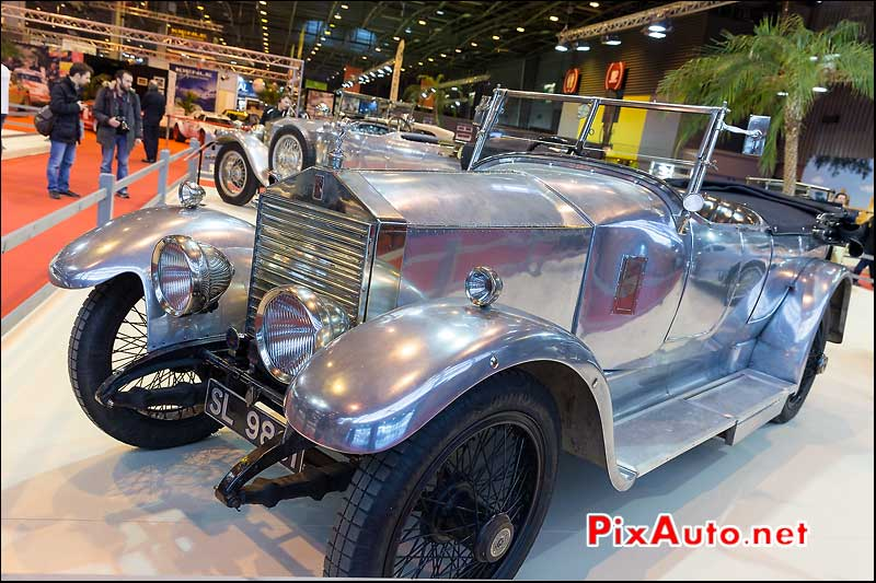 Rolls-Royce Phantom I en aluminium, salon retromobile 2014
