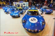 Les Alpine de Jean redele, Salon Retromobile 2014