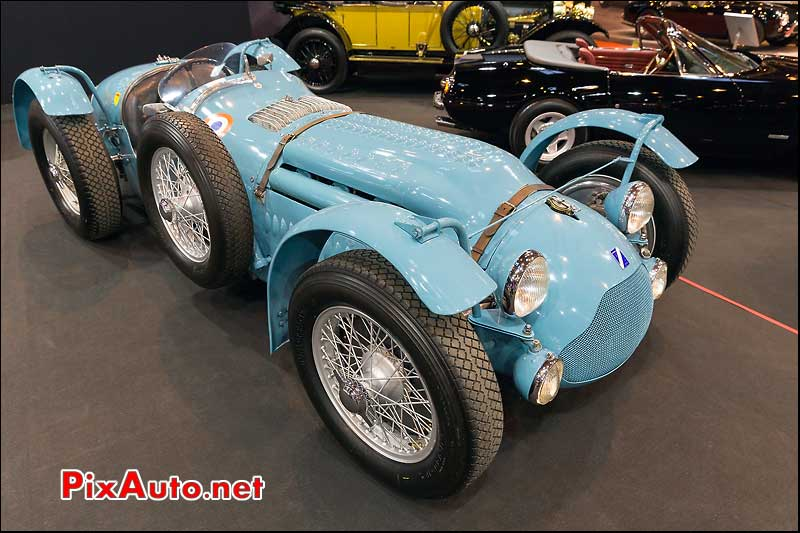 Talbot Lago T26GS #110057, stand Fiskens, Salon Retromobile