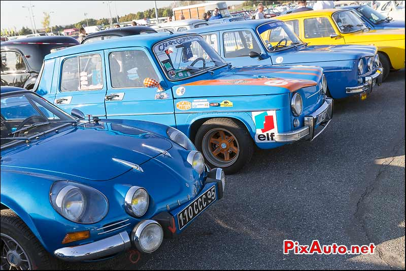 Salon Automedon, Alpine A110 et R8 Gordini
