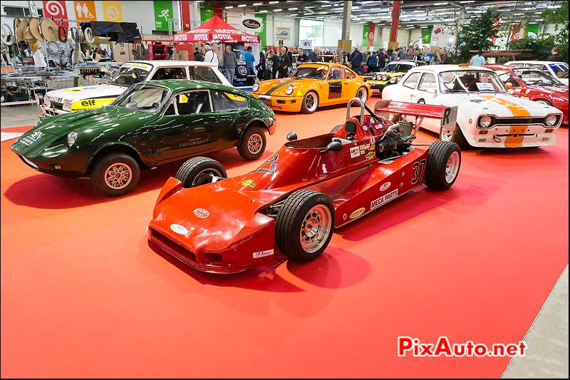 Salon Automedon, Podium Voitures De Course