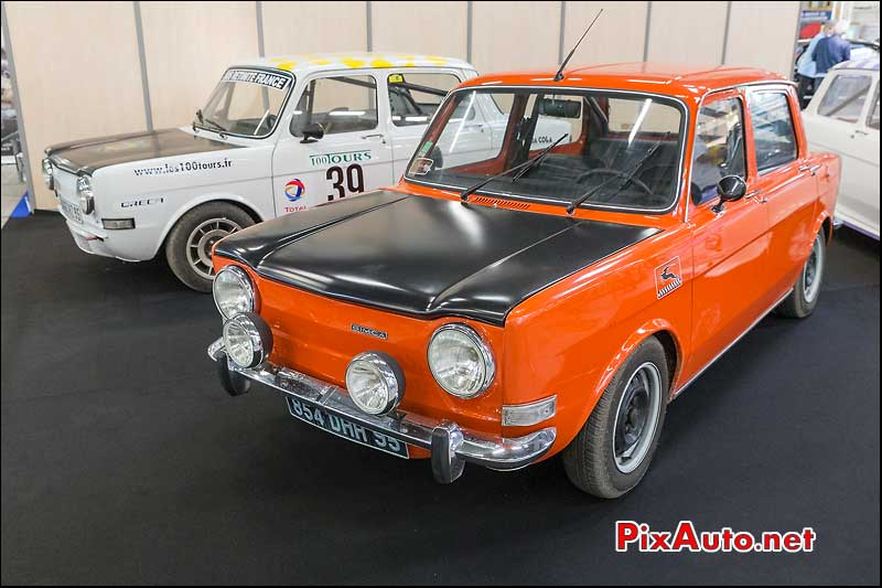 Salon Automedon, Simca 1000 Rallye 2