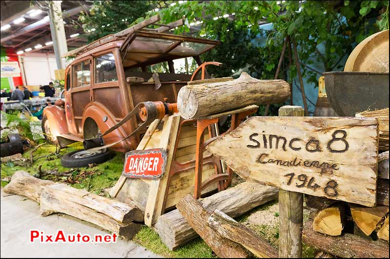 Salon Automedon, Simca 8 Canadienne
