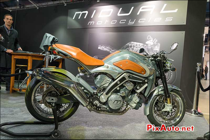 Salon Moto Legende 2014, Midual Motorcycles Type 1