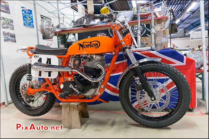 Salon Moto Legende, Norton Dirt Track