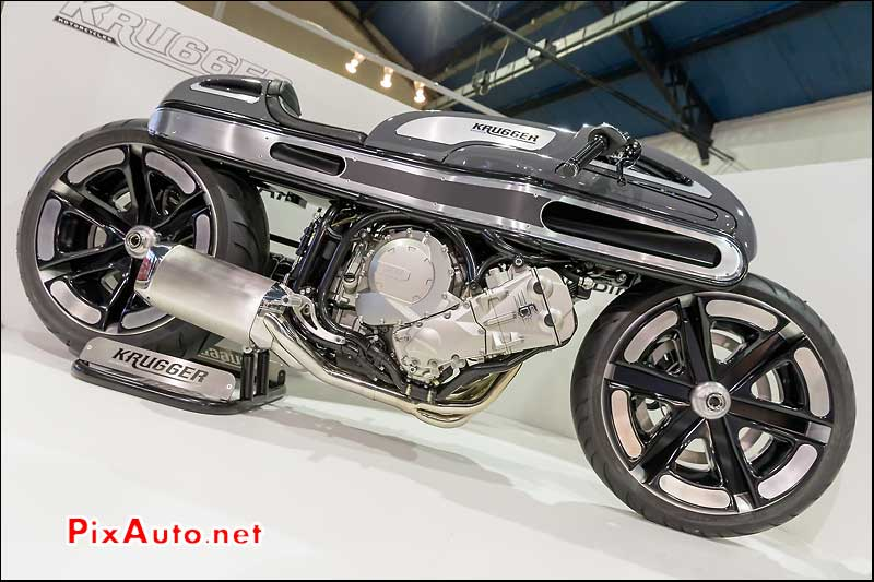 Salon Moto Legende, Nurbs By Krugger Motorcycles
