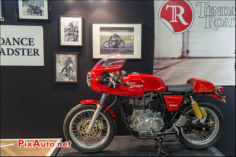 Salon Moto Légende, Royal Enfield Tendance Roadster