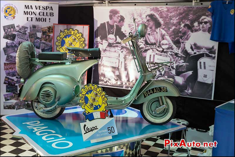 Salon Moto Legende, Stand Vespa Club de France