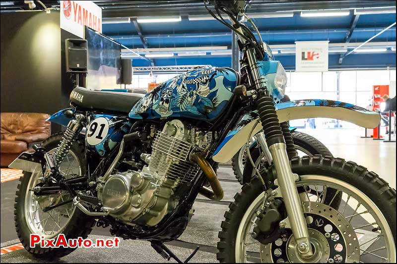 Salon Moto Legende, Yard Built SR400 By Bizmut