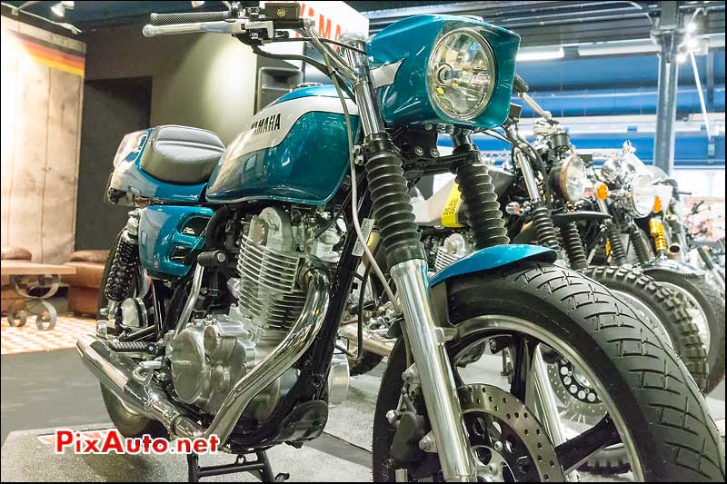 Salon Moto Legende, Yard Built SR400 By Kedo