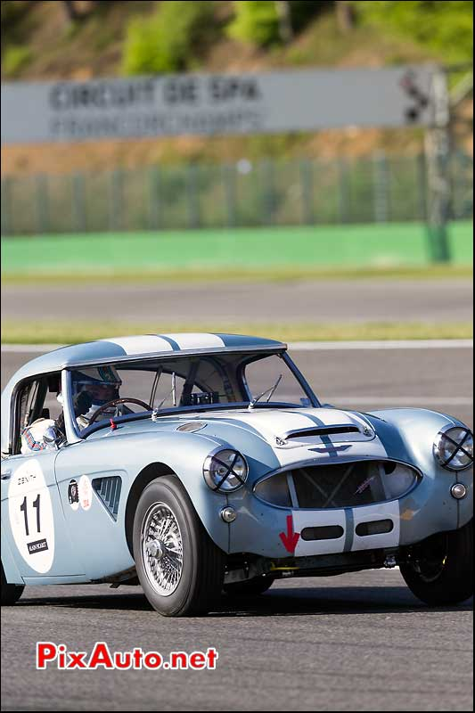 Austin Healey 3000 Mk2, sixties endurance SPA-Classic