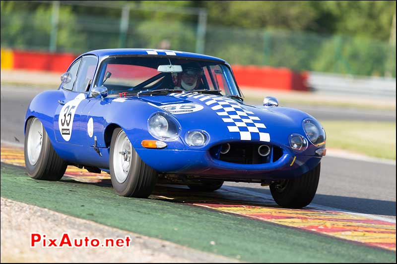 Jaguar E-Type numero 35, sixties endurance SPA-Classic