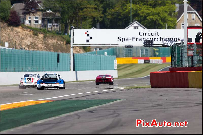 Finish Cer1 SPA-Classic, circuit SPA-Francorchamps