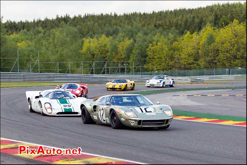 Ford GT40, SPA-Classic Cer1, les Combes