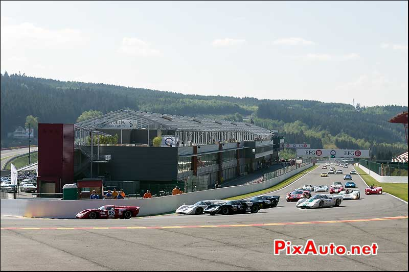 Start Race Cer1 Spa-Francorchamps, SPA-Classic 2014