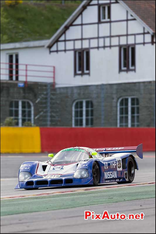 Nissan R90CK, Group C numero 28, SPA-Classic