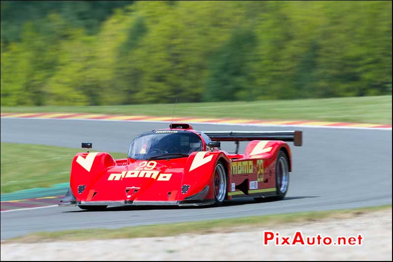 Gebhardt C91, Group C SPA-Classic, les combes SPA-Francorchamps