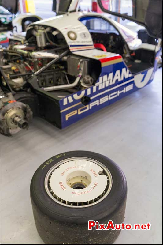 Roue Porsche 956c Rothmans, Group C SPA-Classic