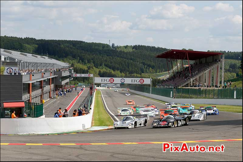 Spa-Francorchamps Start Race Group C, SPA-Classic 2014