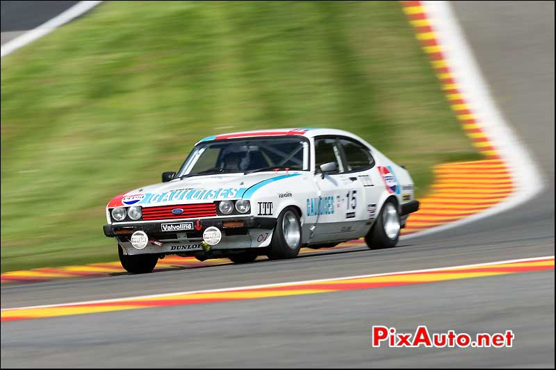 Ford Capri 1980, Heritage-Touring-Cup SPA-Classic