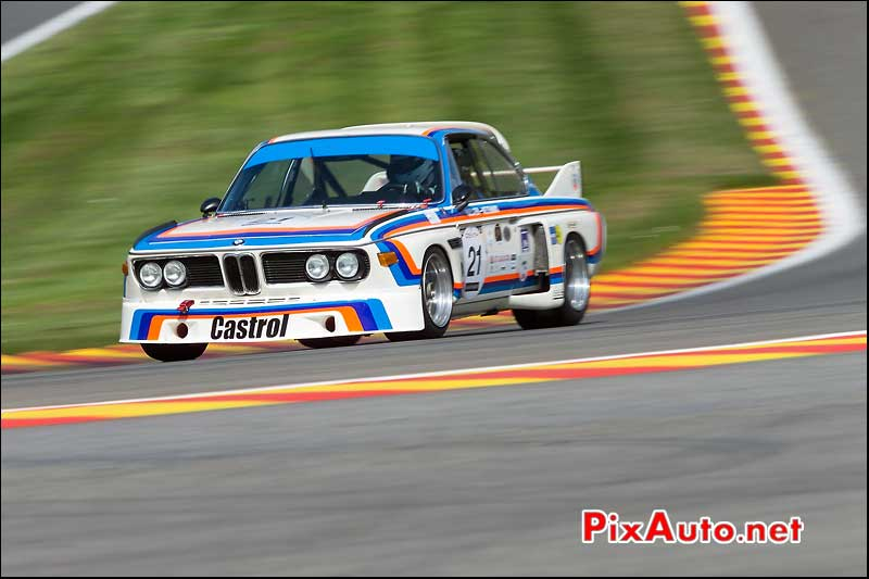 BMW 3csl, Eau Rouge, Heritage-Touring-Cup SPA-Classic