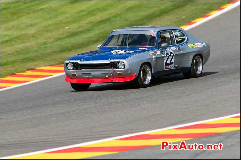 Ford Capri 2600RS, Eau Rouge, Heritage-Touring-Cup SPA-Classic 2014