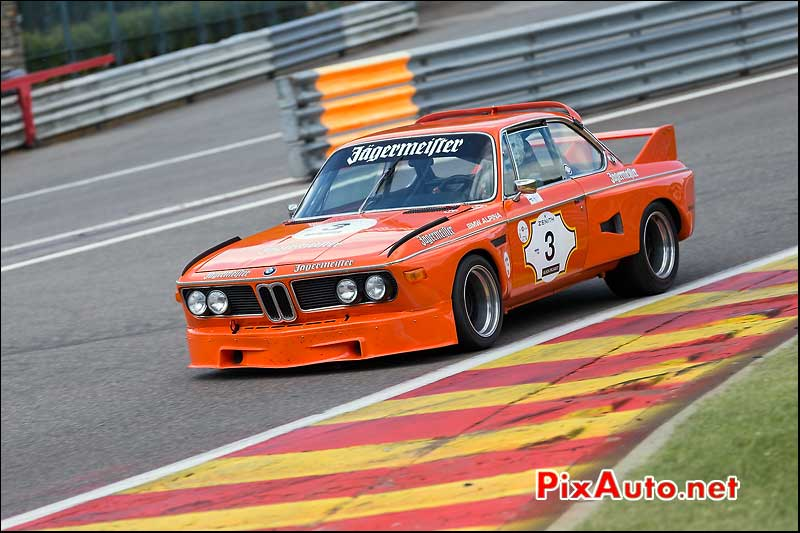 BMW 3csl Jagermeister, Heritage-Touring-Cup SPA-Classic