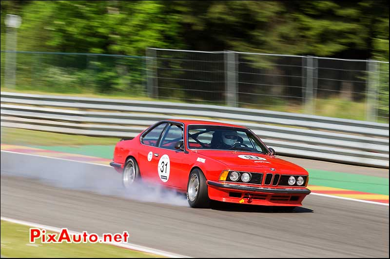 BMW 635csi blocage roue, Heritage-Touring-Cup SPA-Classic