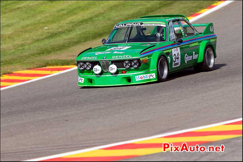 BMW 3csl 1975, Heritage-Touring-Cup SPA-Classic
