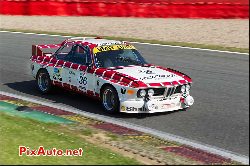 BMW 3csl, Heritage-Touring-Cup SPA-Classic