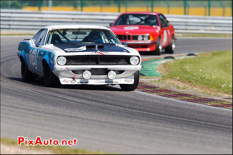Plymouth Hemicuda 1970, Heritage-Touring-Cup SPA-Classic