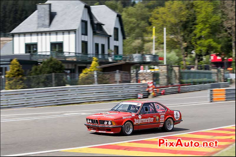 BMW 635CSi Jagermeister, Heritage-Touring-Cup SPA-Classic