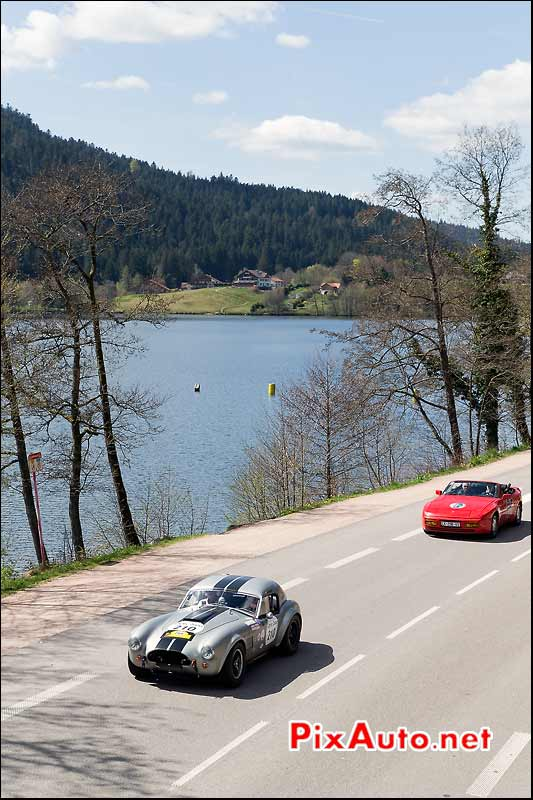 AC-Cobra, Dominique Guenat, Lac Gerardmer, Tour-Auto-Optic-2000
