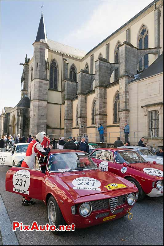 Alfa Romeo 1600 GTA, Abbaye de Remiremont, Tour-Auto-Optic-2000