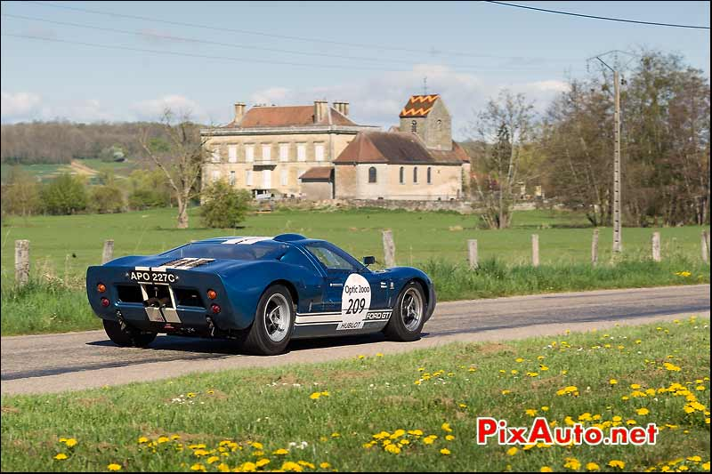 Ford GT40, Saone et Loire, Tour-Auto-Optic-2000