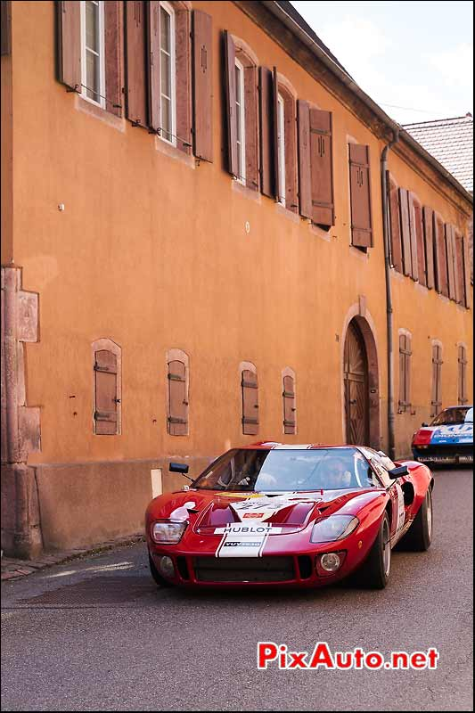 Ford GT40, a Gueberschwihr, Tour-Auto-Optic-2000