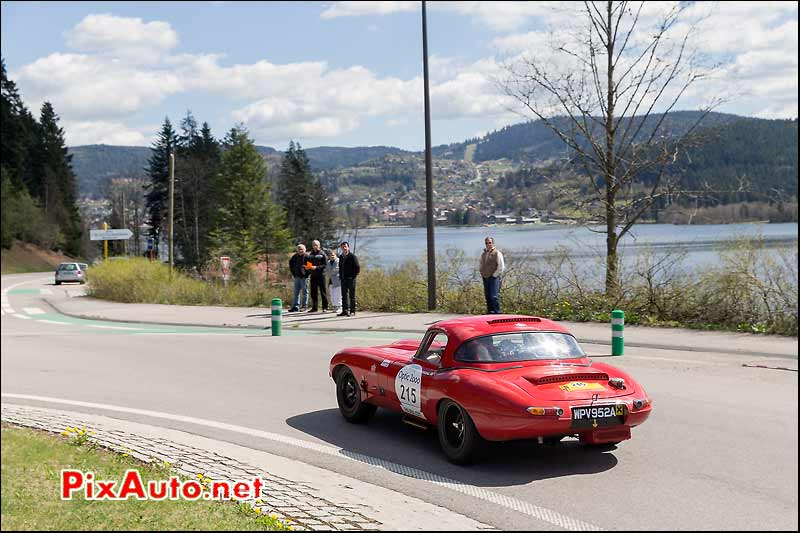 Jaguar E-Type, Lac Gerardmer, Tour-Auto-Optic-2000