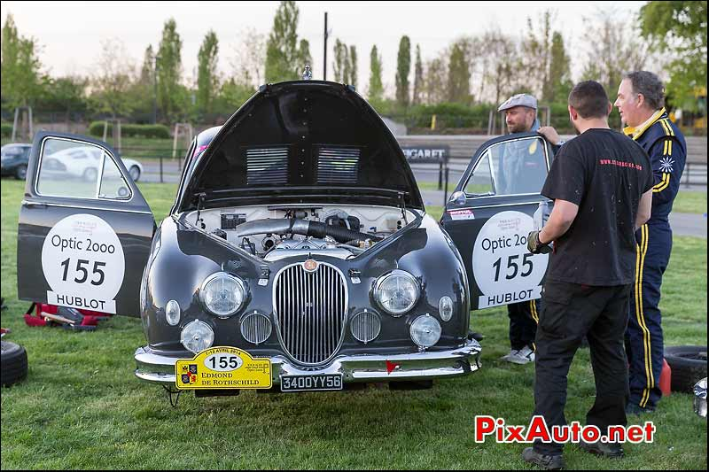 Jaguar Mk1, Parc Mulhouse, Tour-Auto-Optic-2000