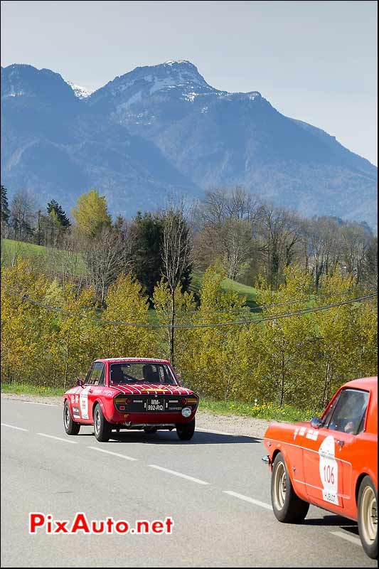 Lancia Fulvia HF, Isere, Tour-Auto-Optic-2000