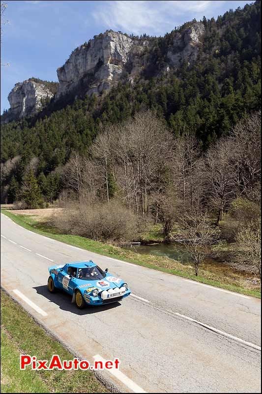 Lancia Stratos Gr4, massif du Vercors, Tour-Auto-Optic-2000