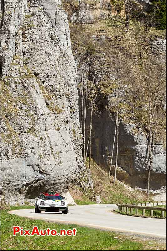 Lancia Stratos Gr IV, route du Vercors, Tour-Auto-Optic-2000