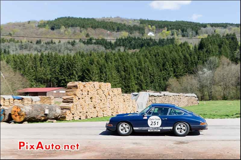 Porsche 911, Foret Vosges, Tour-Auto-Optic-2000