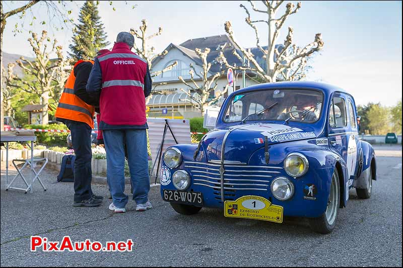Renault 4CV, La Motte Servolex, Tour-Auto-Optic-2000